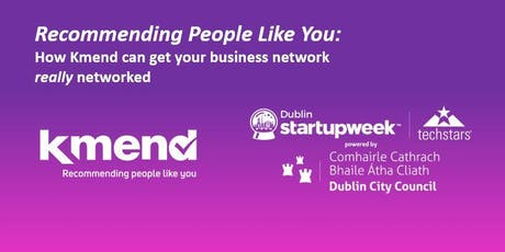 Recommending People Like You: Launch of Kmend tickets