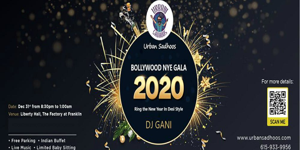 Events Franklin Tn May 2020.Bollywood Nye Gala 2020