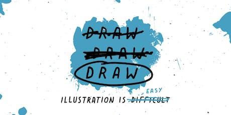 DRAW DRAW DRAW Illustration Workshop with @DavidGalletly tickets