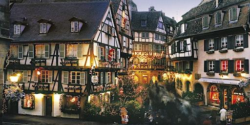 Marché de Noel Strasbourg & Colmar 2019 Weekends fin Nov. & Dec.