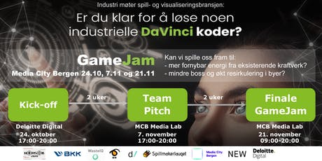 Industri møter spillverden – industriell GameJam tickets