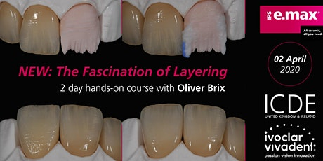 """The Fascination of layering"" Oliver Brix tickets"