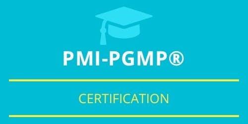 PgMP Classroom Training in Saint-Eustache, PE