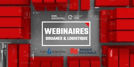 Webinaires - Douanes & logistique billets