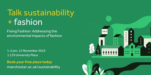 Sustainability Seminar Series - Fashion