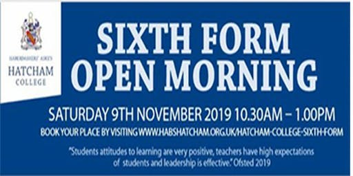 Sixth Form Open Morning