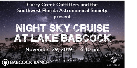 Night Sky Watch Cruise tickets