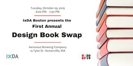 IxDA Boston | 1st Annual Design Book Swap tickets