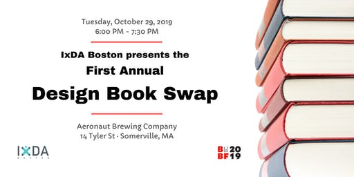 IxDA Boston | 1st Annual Design Book Swap