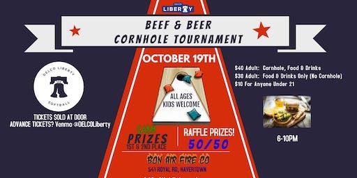 DELCO Liberty Cornhole Tournament & Beef 'n' Beer