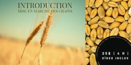 AGRI-DÎNER | INTRODUCTION COMMERCIALISATION DES GRAINS billets