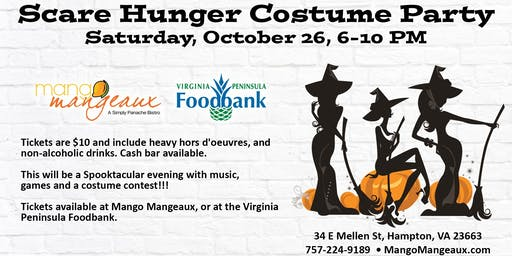Scare Hunger Halloween Fundraiser