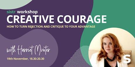 Sistr Workshop - Creative Courage with Harriet Minter tickets