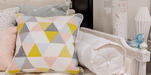 Easy Envelope Pillow Class