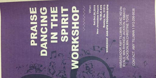 Praise Dancing In The Spirit Workshop