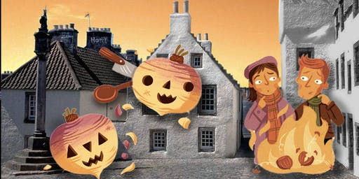 Learn about Scotland and Halloween: Spooky afternoon tea