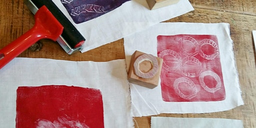 Artist led print workshops