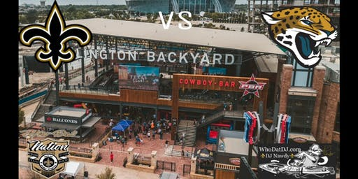 Who Dat Nation Backyard Takeover Saints vs Jaguars