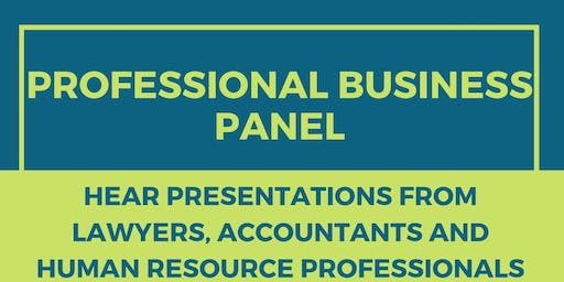 Professional Business Panel