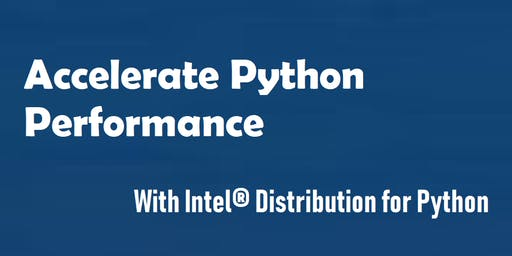 Accelerate Python Performance