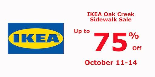 IKEA Oak Creek Sidewalk Sale - Up to 75% Off