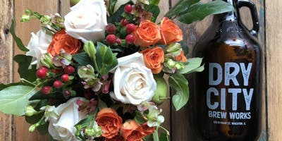 Thanksgiving Centerpieces at Dry City Brew Works