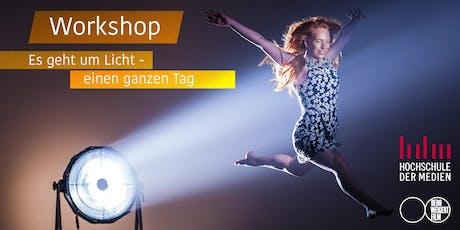 dedolight Workshop mit Dedo Weigert - Es geht um Licht, einen ganzen Tag tickets
