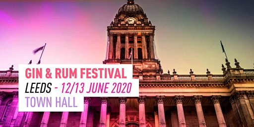 The Gin & Rum Festival - Leeds - 2020