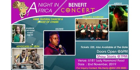 A Night in Africa tickets