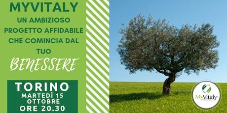 MYVITALY - MEETING TORINO - 15 OTTOBRE biglietti