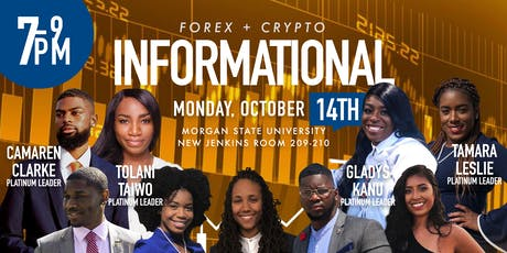 Morgan State University Forex/Crypto Informational tickets