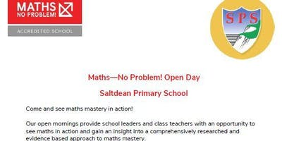 Maths - No Problem! Open Day
