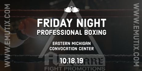 Professional Boxing & Muay Thai Sparring Spectacular tickets