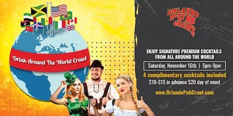 Drink Around the World Crawl tickets