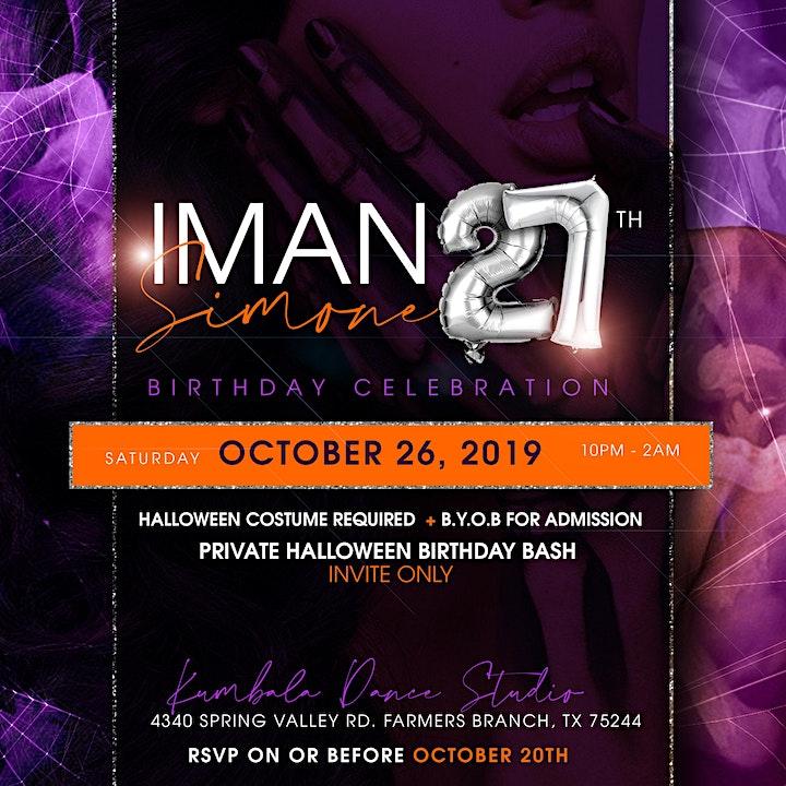 IMAN SIMONE's 27th Birthday Celebration image
