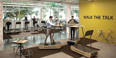 WALKOLUTION - Treadmill Desks exhibitis at  MEDICA  2019 (Booth 4/A05)