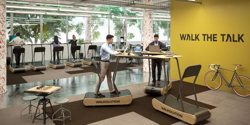 WALKOLUTION - Treadmill Desks exhibitis at  MEDICA  2019 (Booth 4/A05)