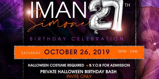 IMAN SIMONE's 27th Birthday Celebration