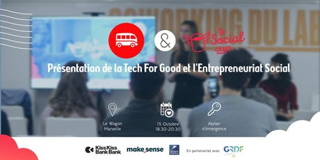 La Social Cup : Tech for Good et l'Entrepreneuriat Social billets