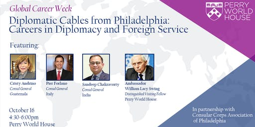 Global Career Week: Diplomatic Cables from Philadelphia