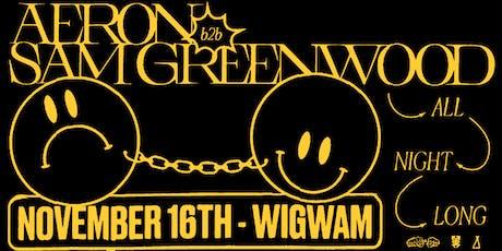 Techno & Cans w/ Aeron B2B Sam Greenwood tickets