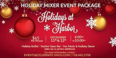 Holidays at The Harbor - Group Holiday Party Mixer