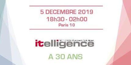 Soirée 5 décembre - itelligence a 30 ans