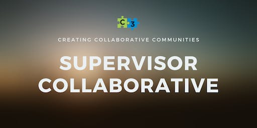 Supervisor Collaborative - TBD