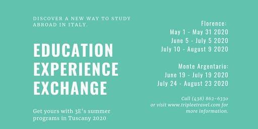 3E Study Abroad Information Session - Info-session Voyage-études 3E