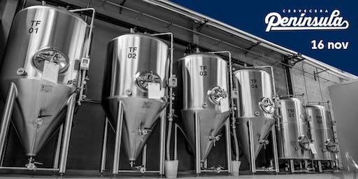 Visita Guiada a la Fábrica de Cervecera Península