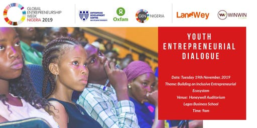 GEW Nigeria 2019: Youth Entrepreneurship Dialogue