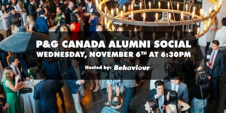 P&G Canada Alumni Social tickets