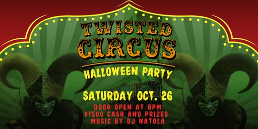 MIXX 360 TWISTED CIRCUS HALLOWEEN PARTY with DJ NATOLA