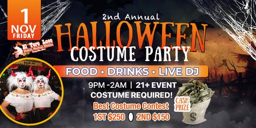 2nd Annual Halloween Bash and Costume Party
